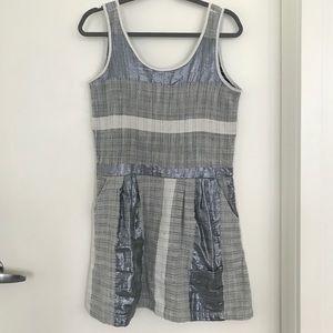 Ace & Jig Grey Metallic Dress